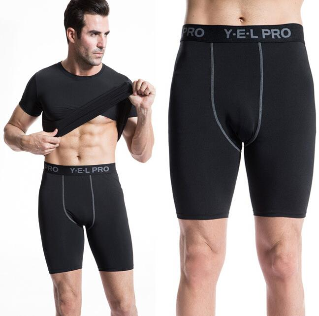 Men Compression Shorts Sports Pants Gym Tights Base Layers Pro Fitness Underwear