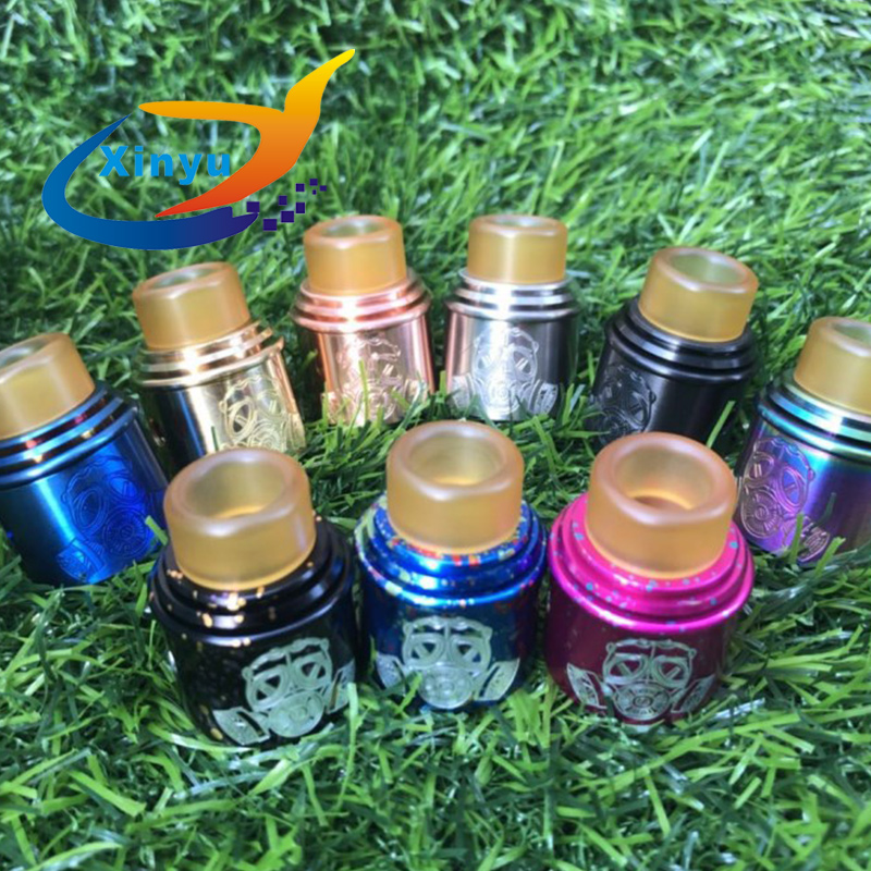 Apocalypse GEN 2 RDA Atomizer 24mm Rebuildable  Tank With BF PIN For 510 Electronic Cigarette Mod Clapton Coil Is Free Gift