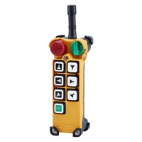 F24 6D 6 buttons 2 speed industrial radio remote control transmitter