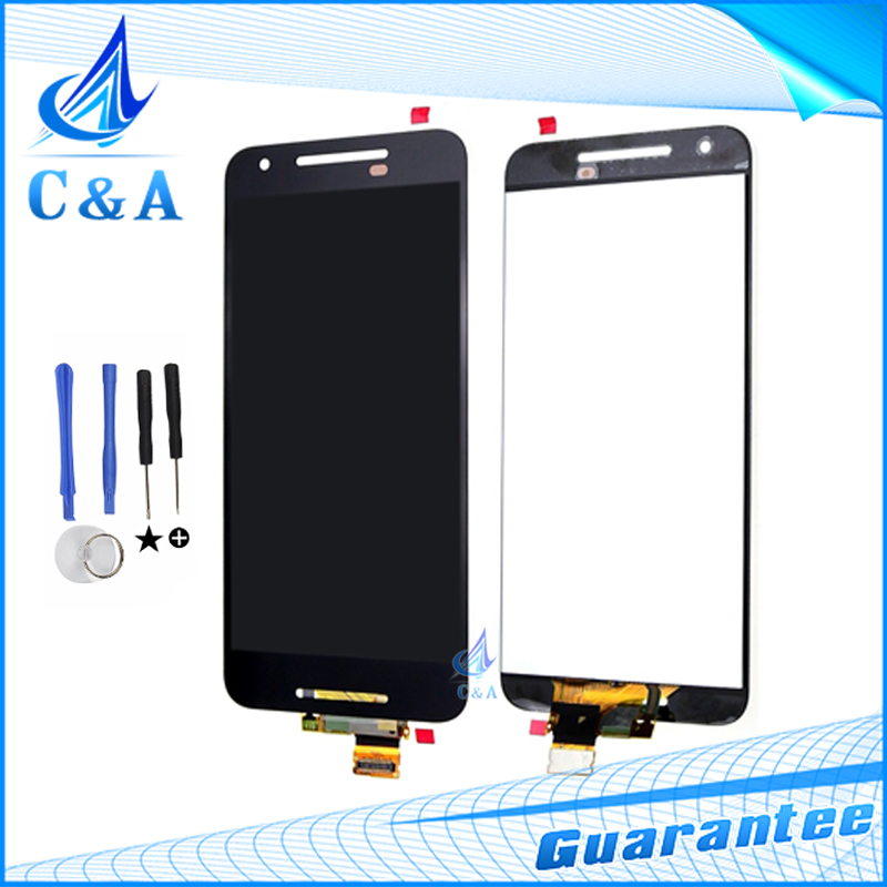 ФОТО For LG Google Nexus 5X LCD Display Screen with Touch Digitizer Assembly for LG H790 H791 lcd with Tools 1 Piece Free Shipping