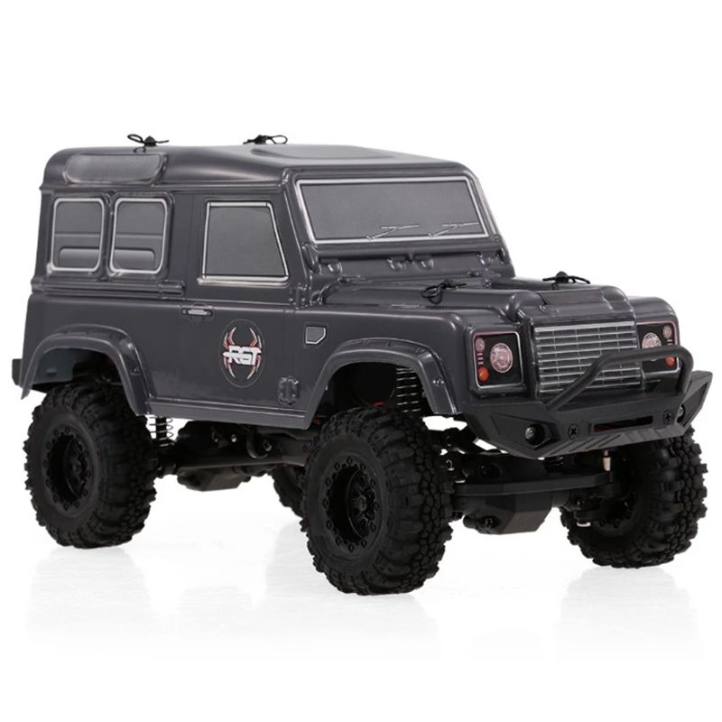 New RGT RC Crawlers 1/24 Scale 4wd Off Road RC Car 4x4 mini Off-Road Truck RTR Lipo Rock Crawler Adventurer D90 With Lights kulak 4x4 1 18th rtr electric powered off road crawler 94680