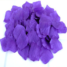 2016 Artificial Flowers 1000pcs Silk Rose Flower Petals Leaves Wedding Decoration Table Confetti Supplies Petalos De Rosa Boda