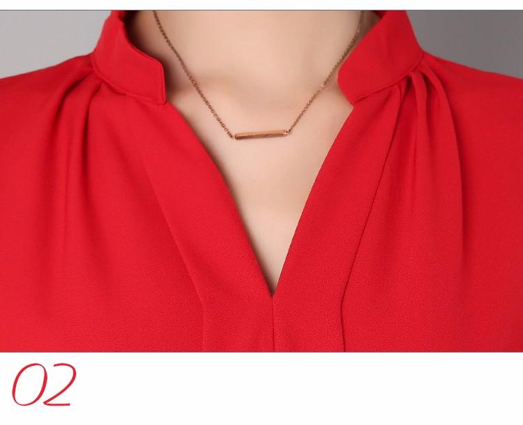 HTB1534PLpXXXXcGaXXXq6xXFXXXL - Long Sleeve Elegant Ladies Office Shirts Fashion Casual Slim Women