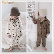 Купить с кэшбэком Kids Baby Pajamas Set for Boys Underwear Clothing Suits Spring Children's Pajamas for Girls Pajamas Set Cotton Sleepwear Pyjamas