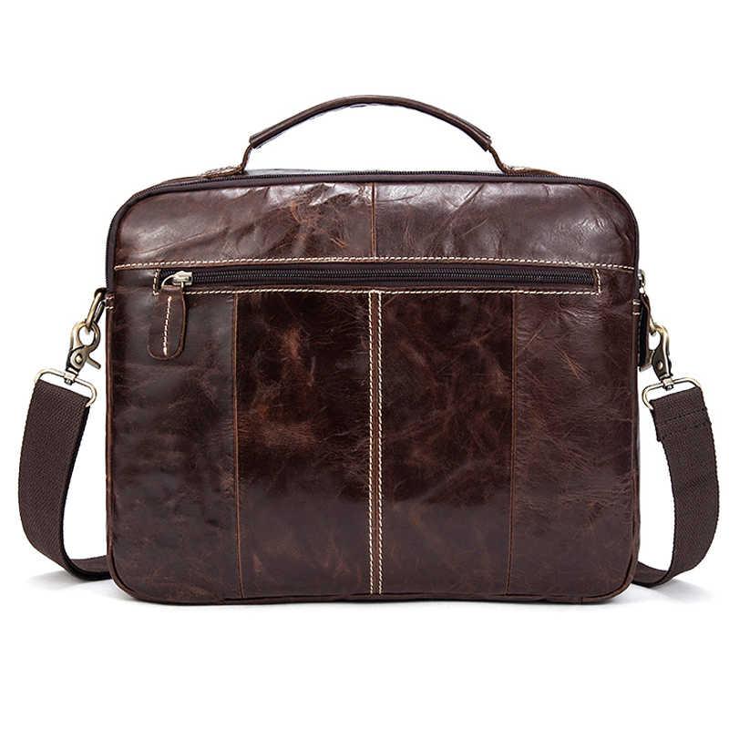 6a149b707936 ... MVA горячие продаж сумка через плечо мужская сумка для документов мужская  сумка для ноутбука кожа портфель ...