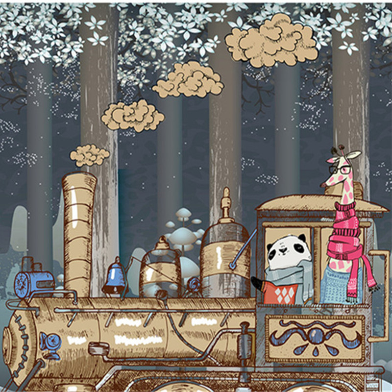 Modello del fumetto Classico Vintage Sfondi 3D Personalizzato Murales Cartone Animato Orso Photo carta Da Parati per Camera dei bambini SoggiornoModello del fumetto Classico Vintage Sfondi 3D Personalizzato Murales Cartone Animato Orso Photo carta Da Parati per Camera dei bambini Soggiorno