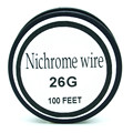 Nicrom alambre de 26 AWG Calibre 100 FT 0.4mm Cantal Resistencia Resistencia