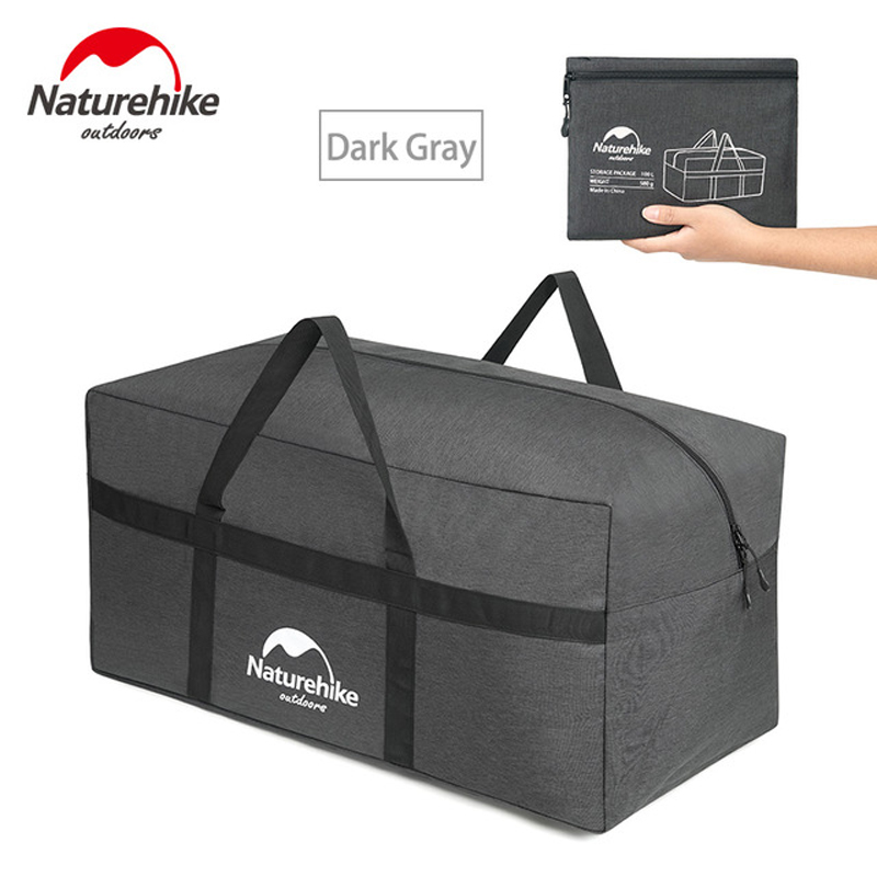 Naturehike large capacity swimming bags travel hiking outdoor handle bag Folding Barrel Gym Totes men Sports Bags