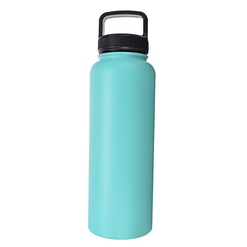 40oz Vacuum Flask Sports Water Bottle Stainless Steel Kettle with Lid Insulation Eco-Friendly Travel Camping Drinkware