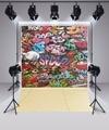 Винилбд граффити на стену  фон для фотостудии  художественного фестиваля  моющийся фон для фотосъемки  профессиональный