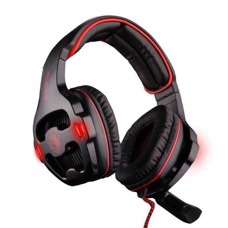 Auriculares para juegos profesionales Sades SA-903 con aislamiento - Audio y video portátil - foto 6