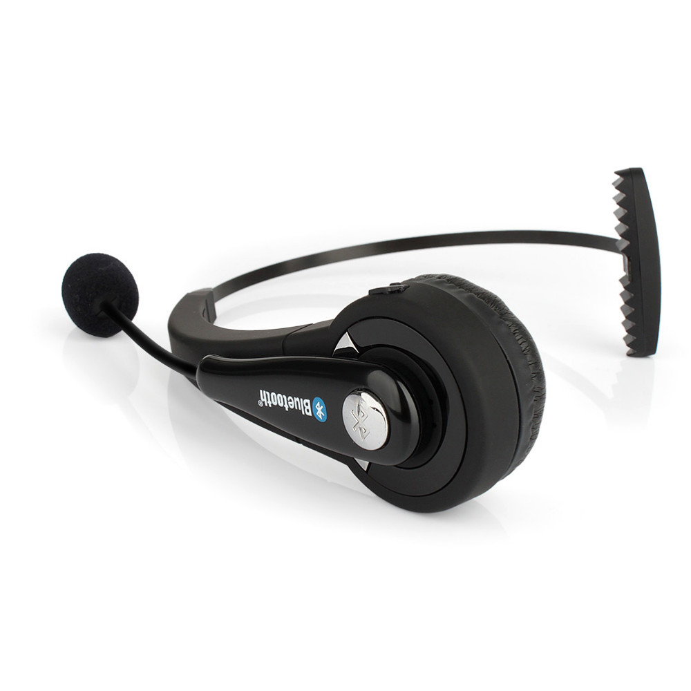 BTH068 Mono Wireless Bluetooth Headset Headphones Noise Canceling with Mic Handsfree for PC PS3 Gaming Mobile Phone Laptop