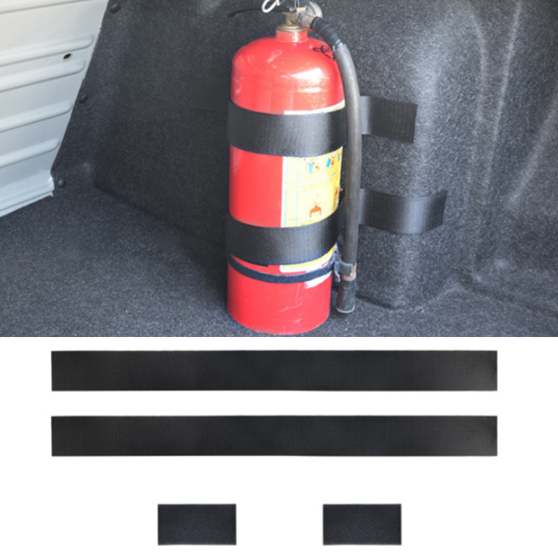 New Fashion 4 Pcs/set Car Fire Extinguisher Strap For Chevrolet Cruze Trax Aveo Lova Sail Epica Captiva Volt Camaro Cobalt Cheapest Price From Our Site Automobiles & Motorcycles