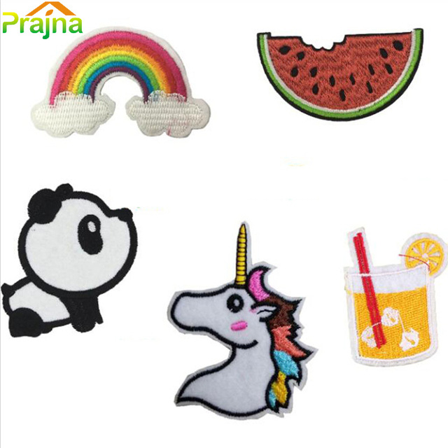 Aliexpress.com : Buy Fruit Rainbow Unicorn Patch Set ...