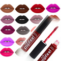 2016 Brand Makeup Waterproof batom Tint Lip Gloss Red Velvet True Brown Nude Matte Lot Makeup Lipstick lip tattoo lipstick