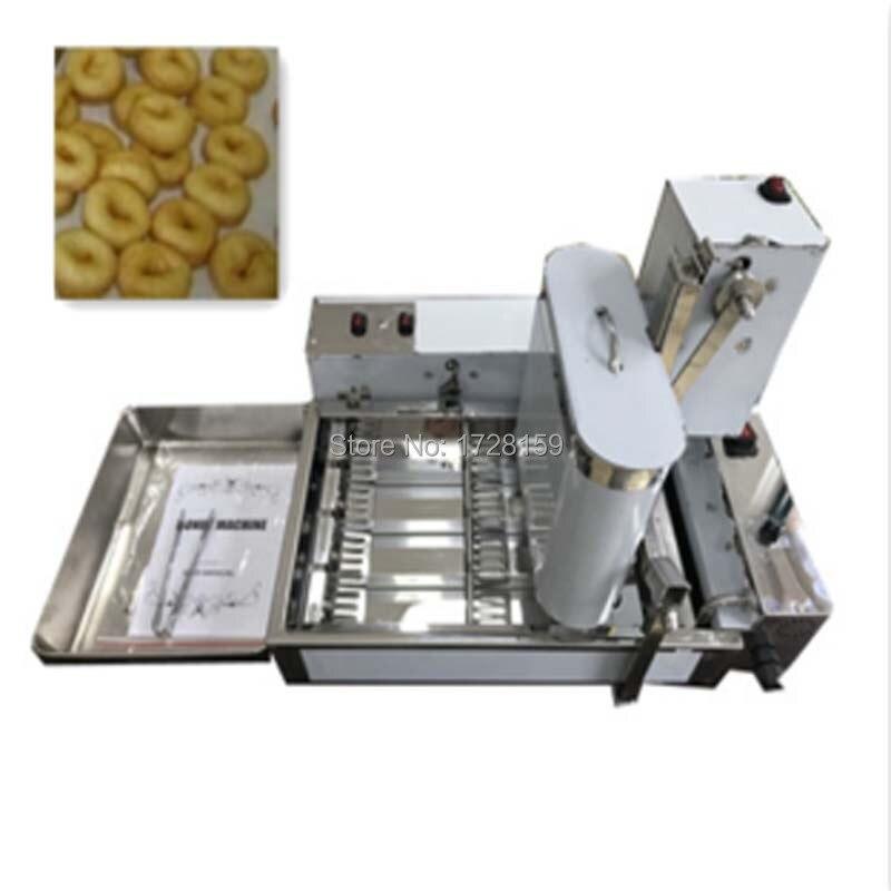 1880 ciambelle per ore Commerciale Ciambella Maker Automatico Creatore Della Ciambella Che Fa La Macchina, Automatica Commerciale Donut Biscotti Friggitrice