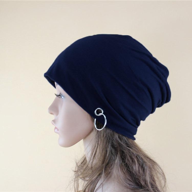 NewMale Female Autumn Winter Casual Cotton Hats For Women Men Beanie Hat Warm Cap Iron Hoop Caps Beanie Hat Skullies Wholesale