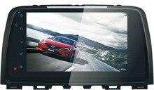 "Quad Core 9 ""Android 6.0 Coches Reproductor de DVD para Mazda 6/Atenza 2013-2015 gps navi audio unidades centrales 3g dvr radio grabadora estéreo"