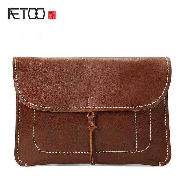 Handmade Leather Retro Fashion Slim
