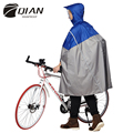 QIAN RAINPROOF Impermeable Outdoor Fashionable Rain Poncho Backpack Reflective Tape Design Climbing Hiking Travel Rain Cover