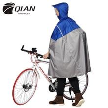 QIAN impermeabile impermeabile alla moda allaperto Poncho pioggia zaino nastro riflettente Design arrampicata escursionismo viaggio copertura antipioggia