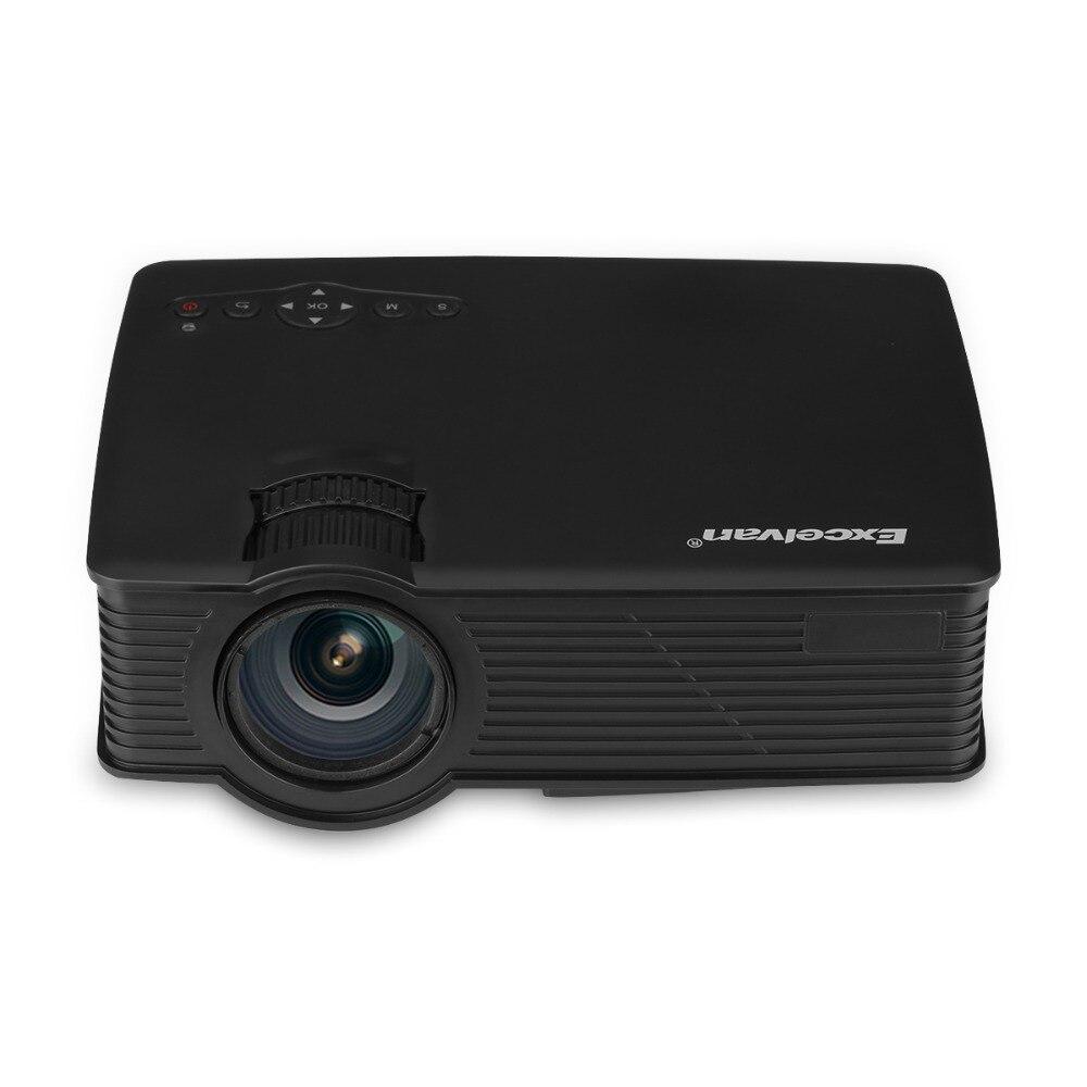 Salange P36 Мини проектор 1500 люмен Домашний кинотеатр видео проектор светодиодный проектор с Android 9,0 WiFi AV/HDMI/USB - 4