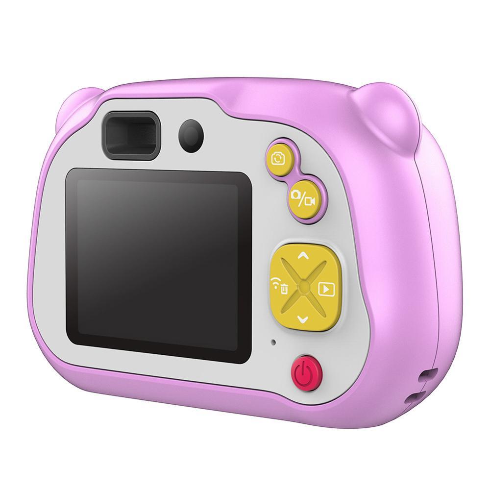 2 pouces 1080 P FHD Auto Focus Wifi enfants Mini caméra bande dessinée appareil photo numérique jouets mignons enfants cadeau d'anniversaire pour enfants caméras