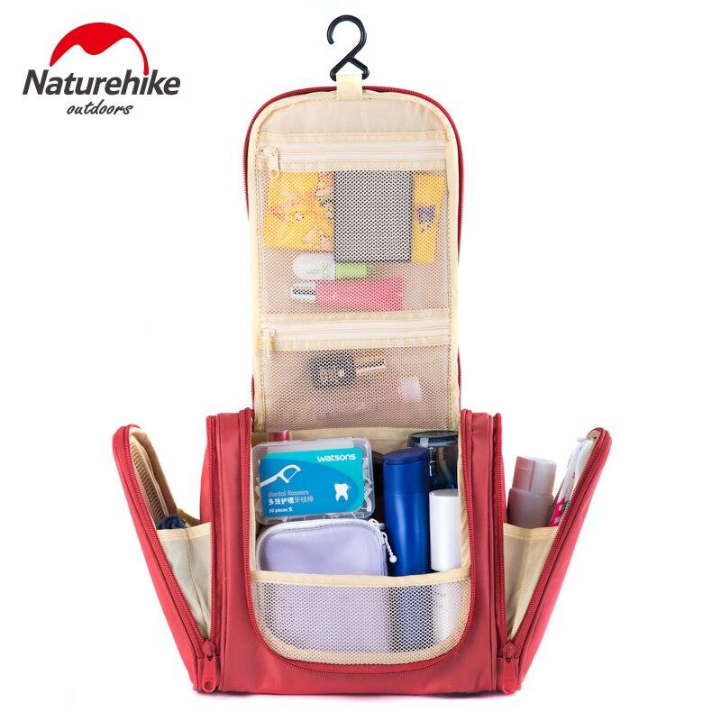Naturehike large capacity travel storage bag washing toiletry kits hanging toiletries bag traveling hotel women makeup packs