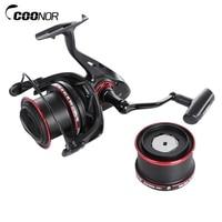 COONOR 11 2 Ball Fishing Reels Bearings Metal Fishing Wheels Spool Spinning Fishing Reel 4 6
