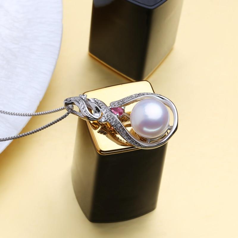 MINTHA 925 ստերլինգ արծաթյա մարգարիտ - Նուրբ զարդեր - Լուսանկար 5
