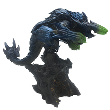 Japan game monster hunter monster world model toy collection in close shot the beast in the dragon doll the loch mess monster