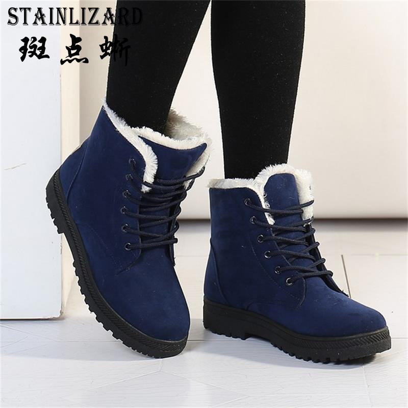Fur Ankle Women Boots Winter Non-Slip Suede plush flat Snow Boots Female Causal Warm Footwear Fashion winter Shoes women BDT1030 60ml mtb chain lube lubricat cycling lubrication maintenance oil bicycle bike lubricating oil lube cleaner repair tool greas