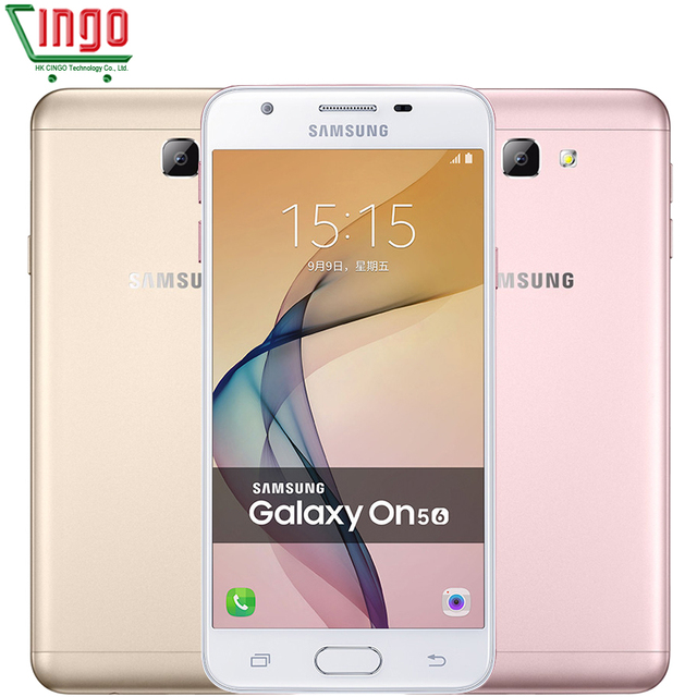 2016 Original Samsung Galaxy On5 G5510/G5520 2GB RAM 16GB ROM 4G LTE Mobile Phone 13MP Dual SIM 5.0'' Android 6.0 Cell Phone