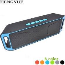 Sc208 Bluetooth 4.0 Портативный Беспроводной Динамик TF USB FM Радио двойной bluetooth Динамик басов сабвуфера Колонки