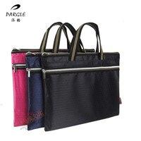 Handbag Bag A4 Ball Zipper Bag Conference Kit Canvas Handbag Briefcase Custom File Bag Document Bag