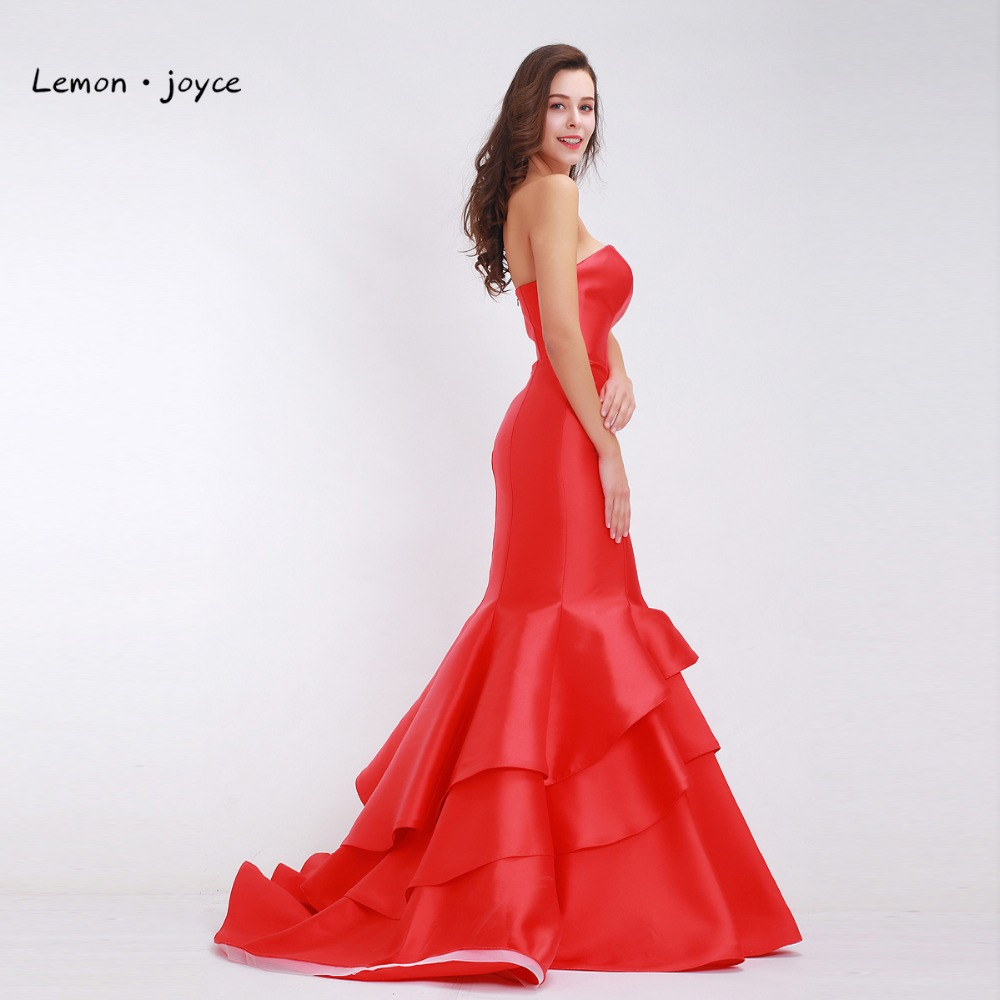 Red Evening Dresses Long 2018 for Women Elegant with Sweetheart ...