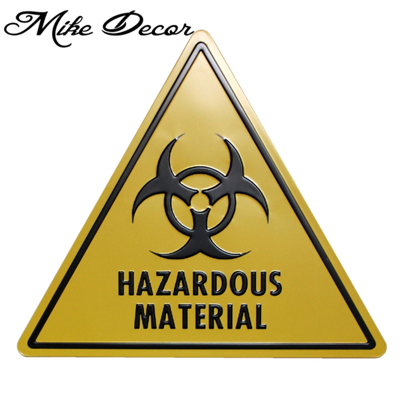 Mike Decor Smoking Causes Cancer Public Danger Hanging Painting