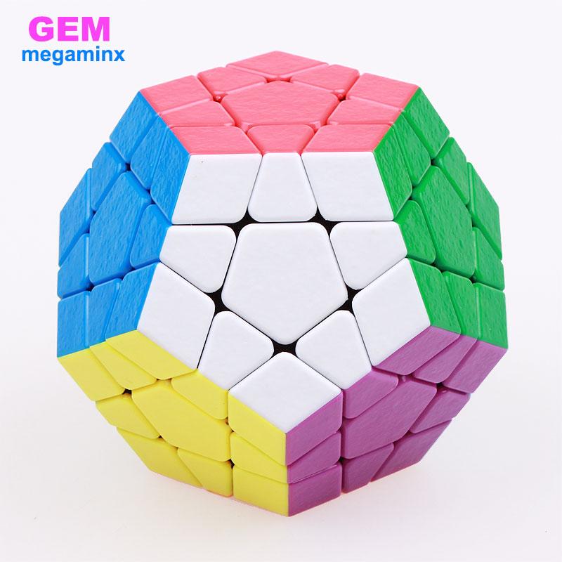 Shengshou MagFoSho Megaminxeds 12 Sides Magic Cubes Stickerless Puzzle Cube Professional Speed Cube Anti Stress Educational Toys