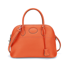 High Quality Women Genuine Leather Fashion Handbag Lady Shoulder Bag Shell Purse Daily Designer Laptop Work Brand New Satchel