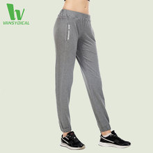 VANSYDICAL Yoga Running Pants Women Sportswear For Fitness Leggings Gym Jogging Basketball Pant Sports Running Sports Trousers S