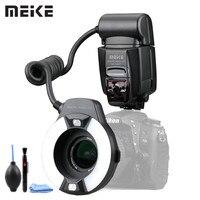 Meike MK-14EXT LED TTL Macro Ring Flash Lite AF I-TTL Unterstützen Lampe Für Nikon D7100 D7000 D5000 D5100 D3200 D3100 d3000 D800 D700
