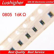 100PCS 0805 SMD Widerstand 5% 16K ohm 1602 163 16Kohm(China)