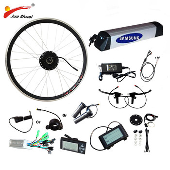 Kit de bicicleta eléctrica de 36V, 250W-500W, Kit de conversión de bicicleta...