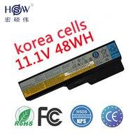 HSW Laptop Battery for lenovo G550 G430 G450 G530 N500 G430 Z360 L06L6Y02 L08L6C02 L08O6C02 L08S6C02 L08S6Y02 51J0226 57Y6266