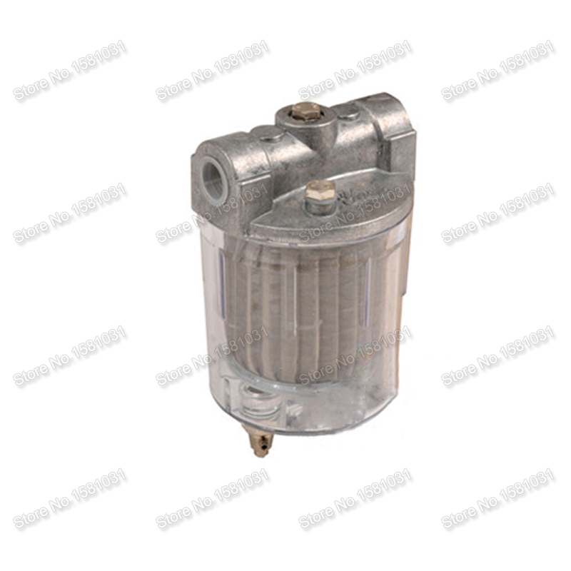 PC cup oil filter 120L H Strainer filter 3 8 diesel filter for burner and boiler