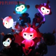 pb playful bag LED lamp Glitter Baby Finger baby Monkeys Smart Fingers non interactive Toys Best Gifts For Kids finger Flashing