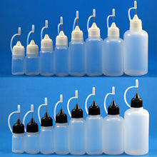 100 個 3 ミリリットル 5 ミリリットル 10 ミリリットル 15 ミリリットル 30 ミリリットル 50 ミリリットルプラスチック絞れるドロップボトル金属スポイト針先端液体 cig オイル e ジュース容器記入