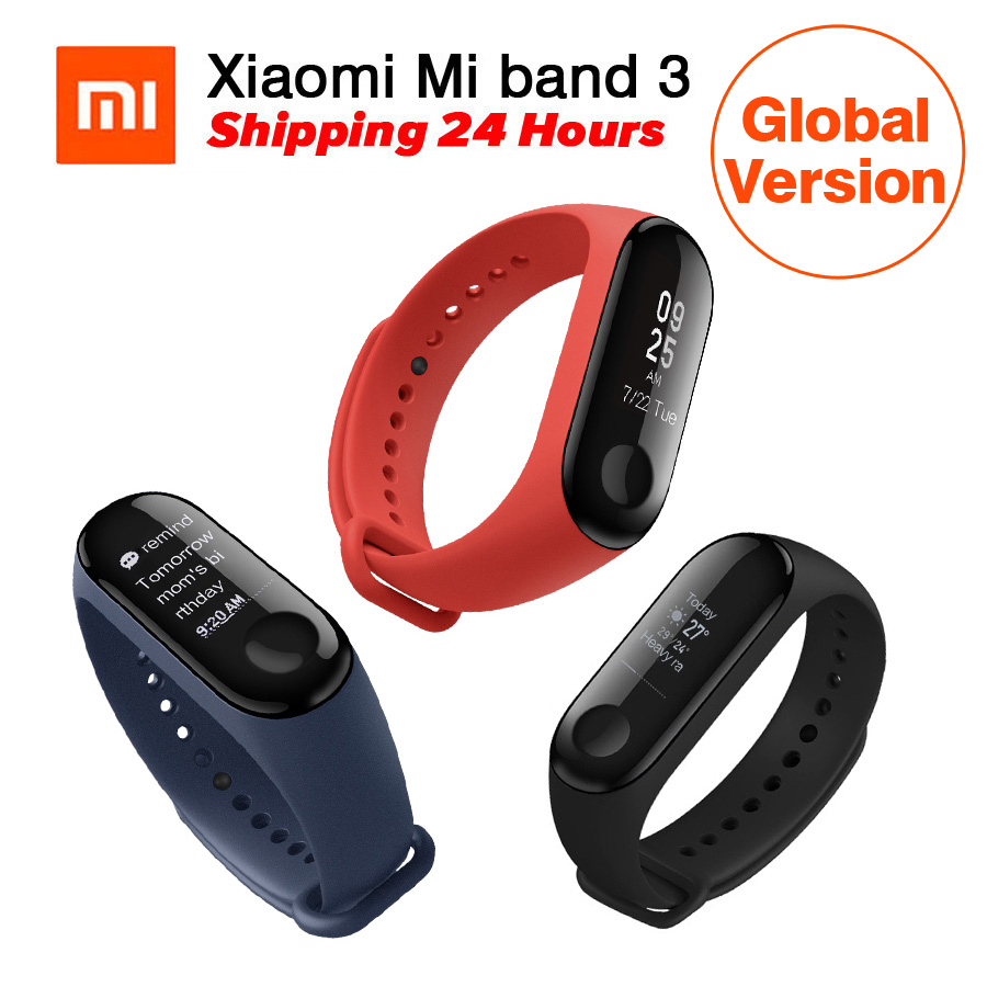 Results Of Top Xiaomi Mi Band 3 Global In Sadola Oled Display Free Screen Guard Version Original Miband Heart Rate Monitor Fitness Tracker 078 For Android Ios