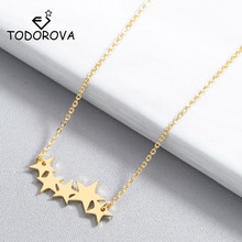Todorova Fashion Star Choker Necklaces for Women Lovers Pentacle Pentagram Pendant Necklace Party Jewelry Accessories
