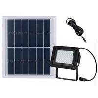 Solar Power Panel 54 LED Solar Flood Light Wall Lamp Outdoor Sport Yard Sidewalk Fence Path Pool Pond Lawn Garden Floodlight